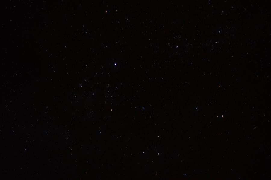 night sky Iroquois Falls On by Anya-Hildebrandt