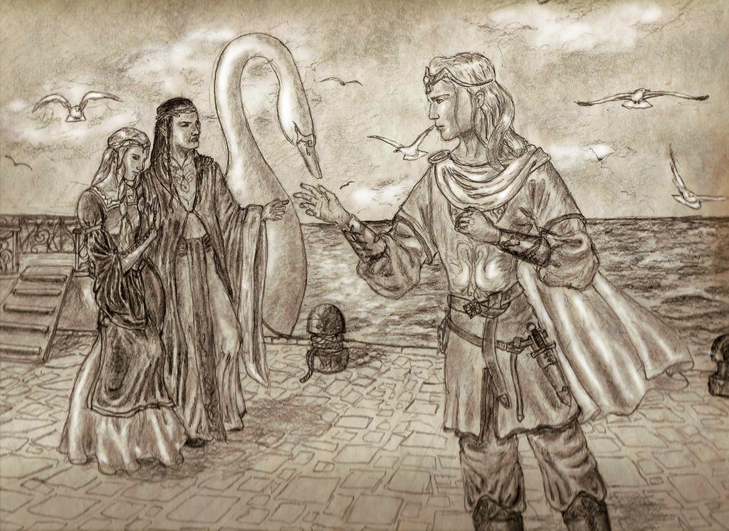 Reuniting in Valinor by MirachRavaia