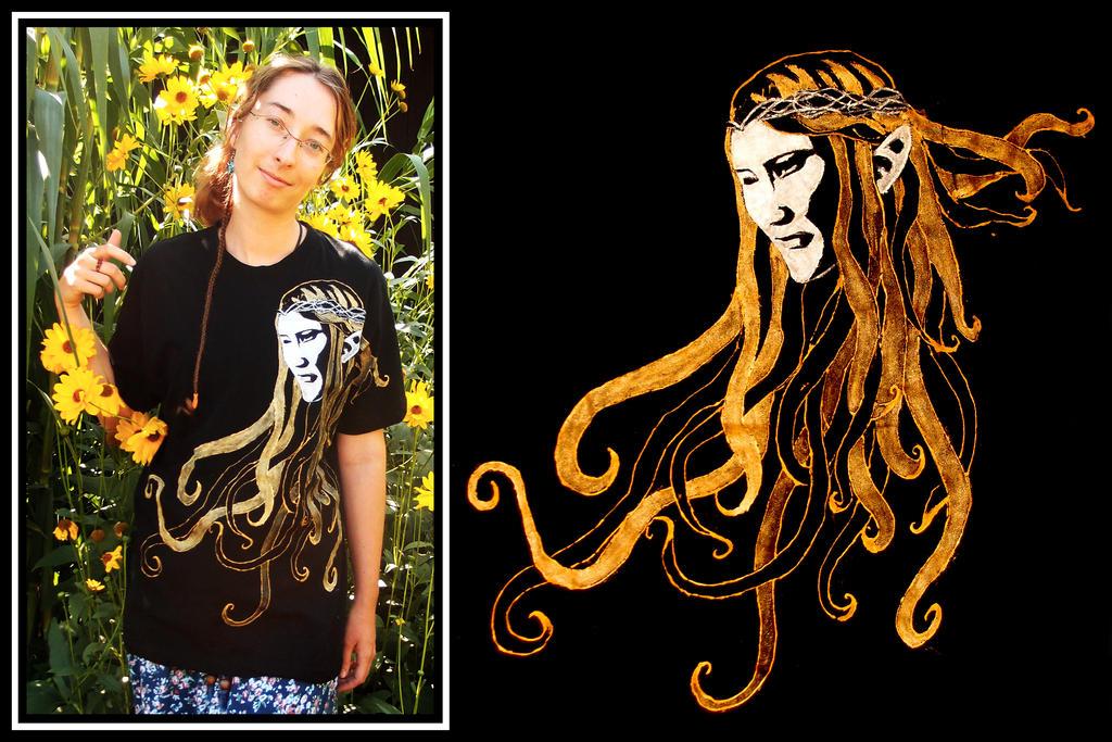 Galadriel t-shirt by MirachRavaia