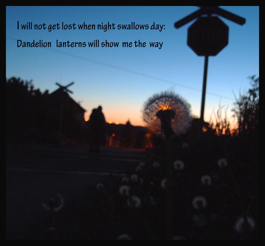 Dandelion lanterns by MirachRavaia