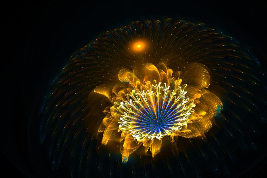 Golden flower by MirachRavaia
