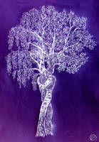 Oak and Birch by MirachRavaia