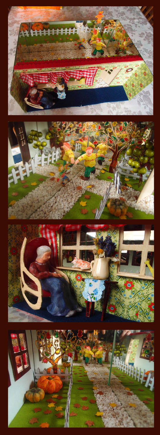 Infinite Autumn by MirachRavaia