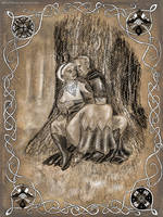 Beren and Luthien: growing old together by MirachRavaia