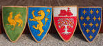 Coats of arms by MirachRavaia