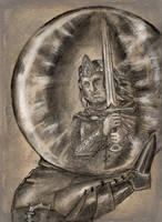 What Sauron saw in the palantir by MirachRavaia