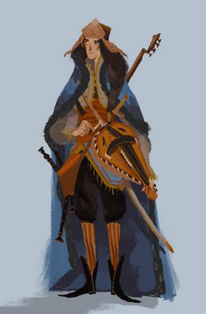 Maglor By Cylindric-d9gvnhu by MirachRavaia
