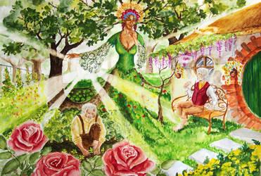 Sam's garden on Tol Eressea by MirachRavaia