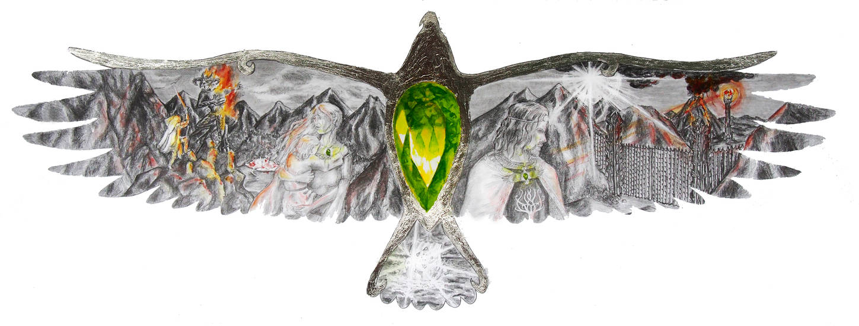 Earendil and Elessar, Elessar and Earendil by MirachRavaia
