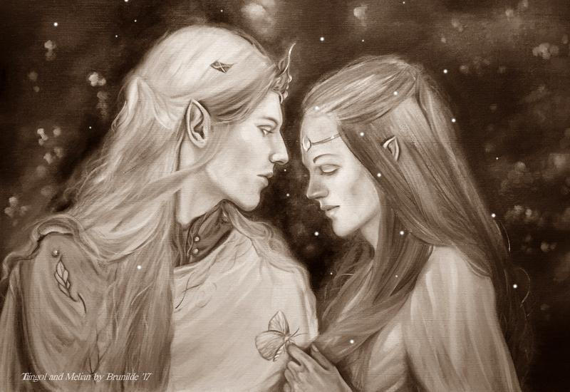 Thingol And Melian By Brunild Dbmujjs-fullview by MirachRavaia