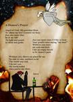 A Demon's Prayer by MirachRavaia