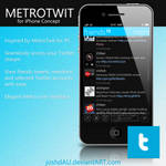 MetroTwit for iPhone by joshdAU