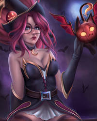Bewitching Janna by AyyyCat