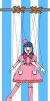 Dawnette the Clown Marionette
