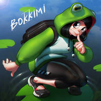 Tsuyu Asui (My Hero Academia) by Bokkimi