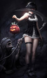 Halloween Lady (Devil May Cry)