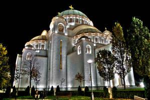 Hram Sv. Save HDR by UZMZRuSh