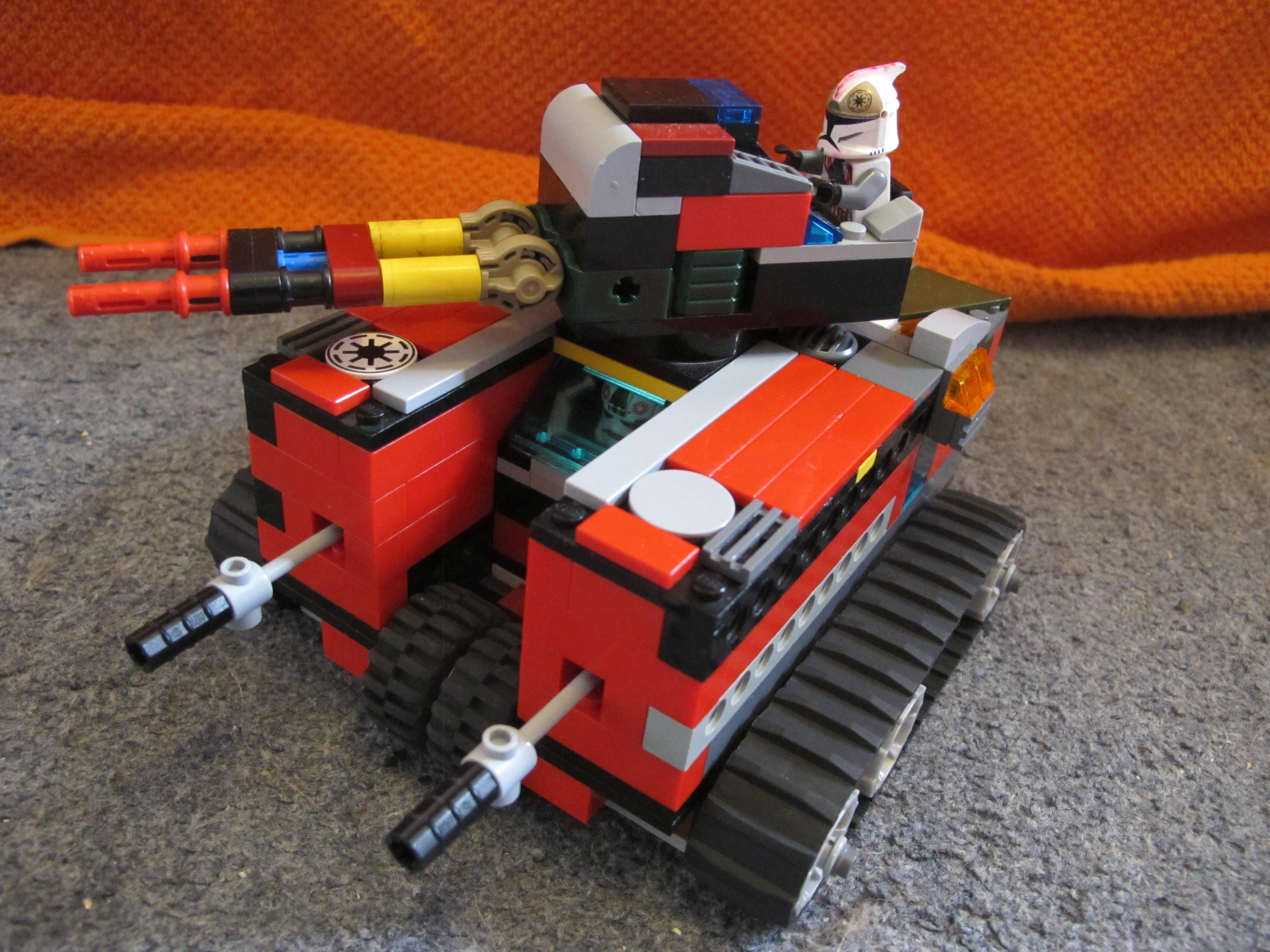 Republic heavy tank MK2 - Traction modification by Darkjedi4