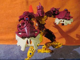 Toa Oron, Master of Fire by Darkjedi4