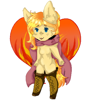 Pixel Ych by AliceBlueCat