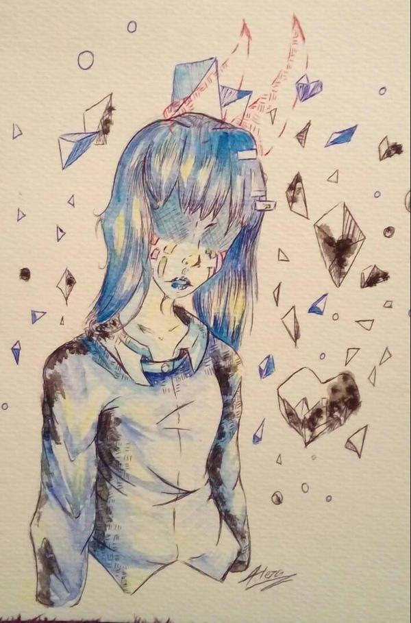 fell upset? by AliceBlueCat
