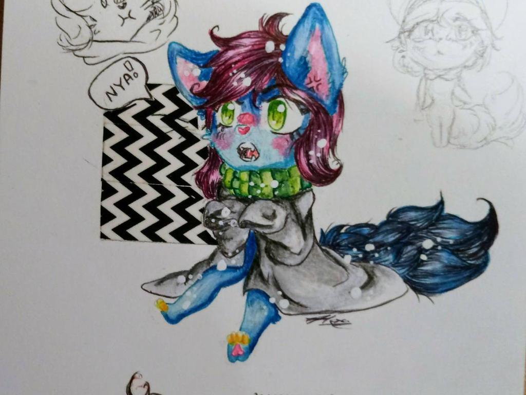 nya!  by AliceBlueCat