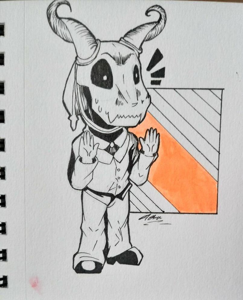 [fast art#4] Elias by AliceBlueCat