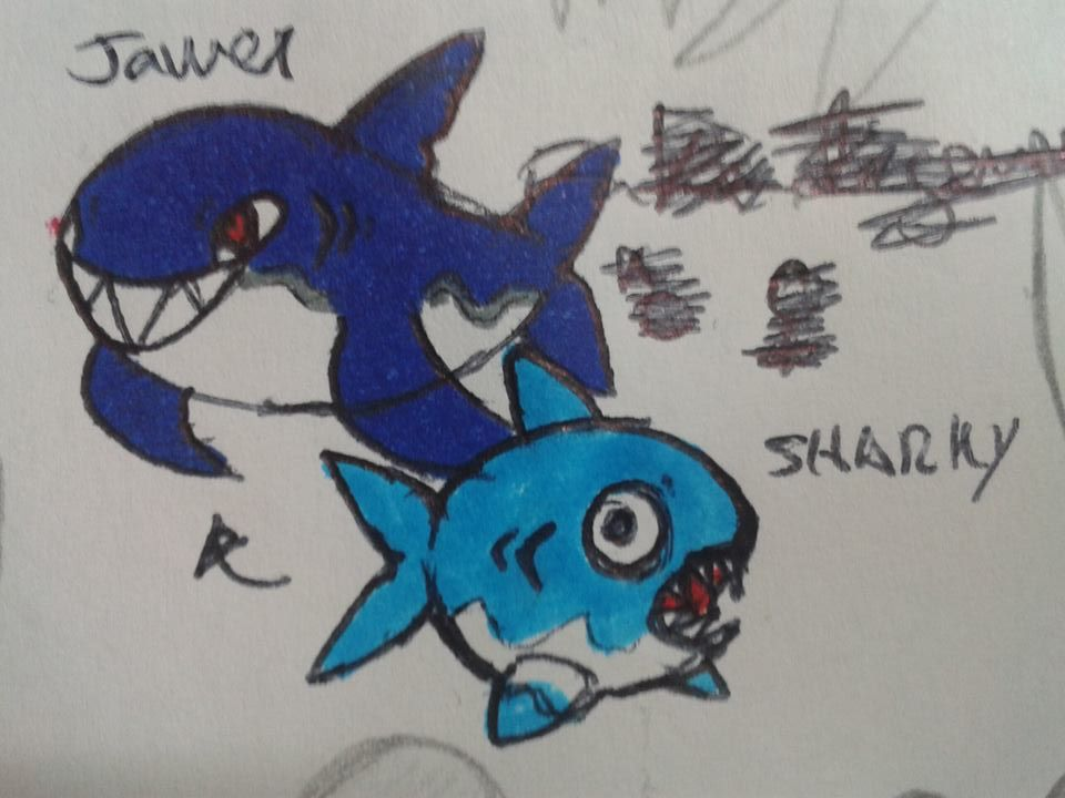 Sharky and Jawer by pepon99