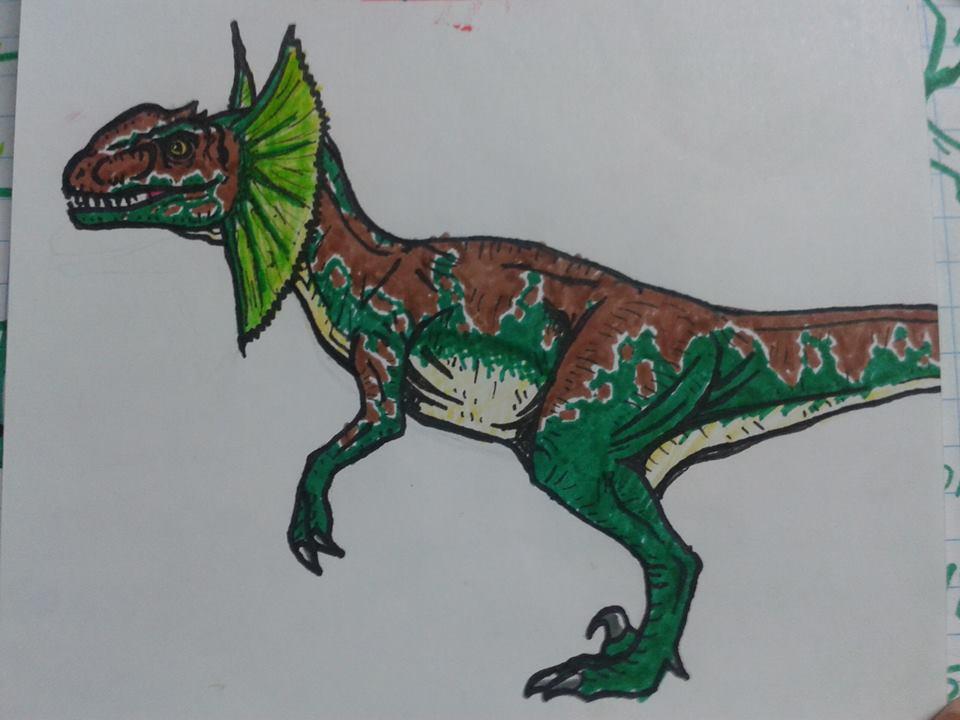 Dilophoraptor by pepon99