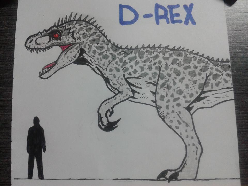 Jurassic World Diabolus/Indominus rex by pepon99