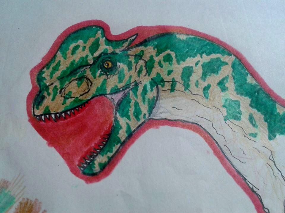 Dilophoraptor-rex by pepon99