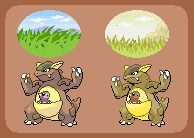 Kangaskhan subspecies by pepon99