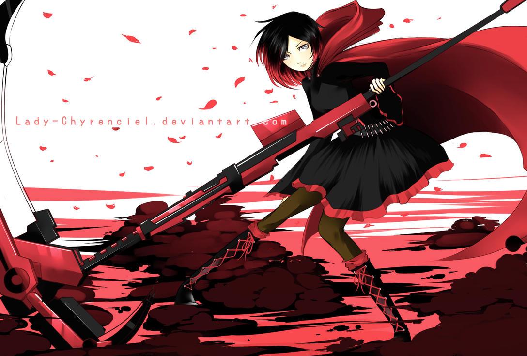 :: R W B Y :: Ruby Rose by Lady-Chyrenciel