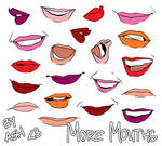 Let's Draw... More Mouths!