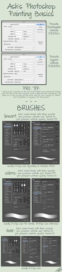 Ash's Photoshop Painting Basics