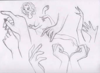 Let's Draw... Hands! Sketch Batch 1