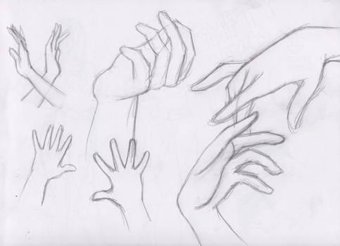 Let's Draw... Hands! Sketch Batch 2