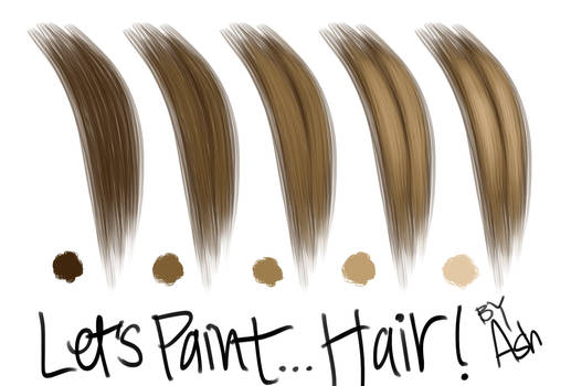 Let's Paint... Hair!
