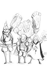 the party WIP by MadMax007