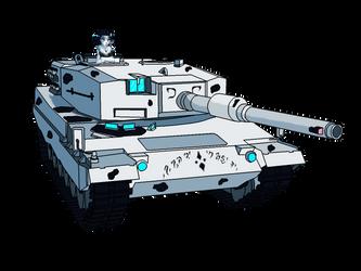Leopard Tank by BlazeFirethorn