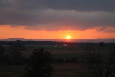 Gettysburg Sunset (3) by BlazeFirethorn