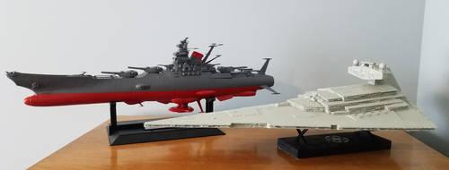 ISD2 and Yamato by BlazeFirethorn