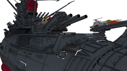 Yamato - Cozmo Zero Launch by BlazeFirethorn