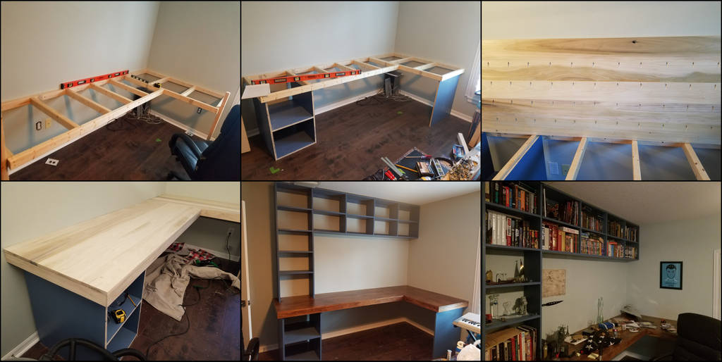 Building myself a desk by BlazeFirethorn