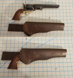 Leather Holster for Colt 1851 Navy
