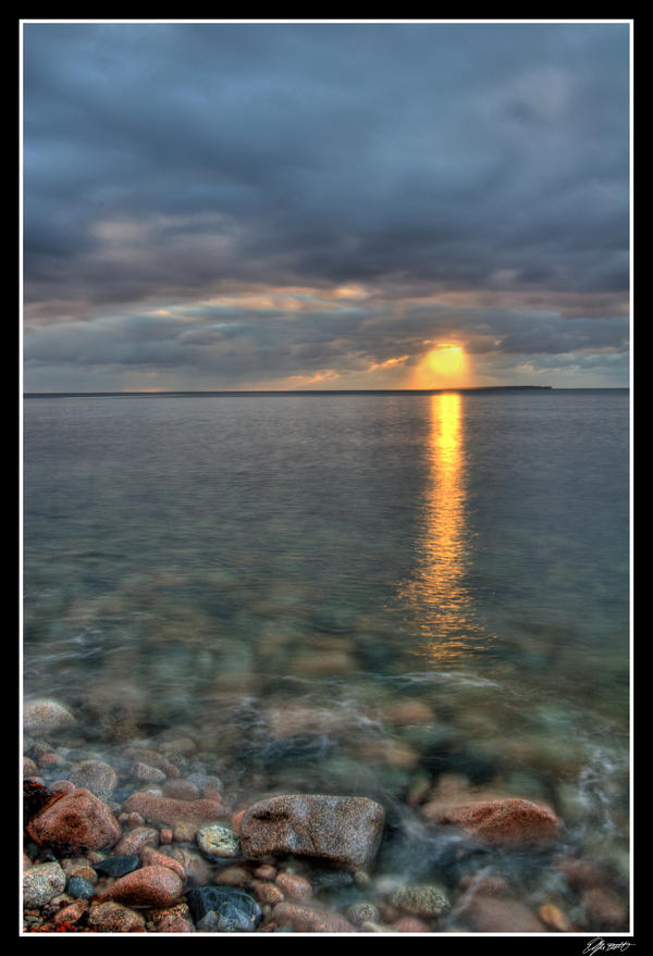 Atlantic Sunrise Cape Breton by EvaMcDermott