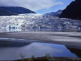 Mendenhall Glacier Alaska by EvaMcDermott