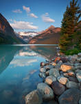 Lake Louise in Morning Light