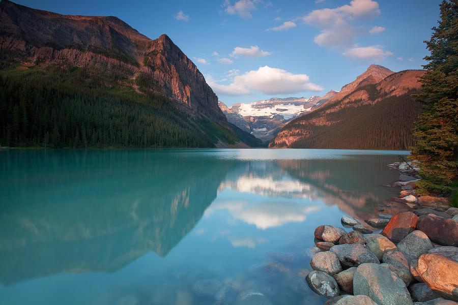 Lake Louise II by EvaMcDermott