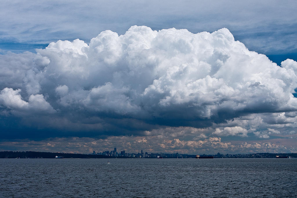 Vancouver Cloudscape by EvaMcDermott